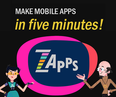 ZIM Zapps for mobile app PWA tool