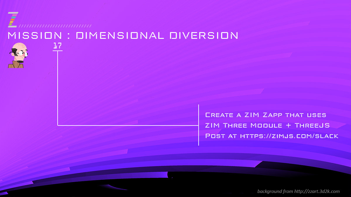 Code Missions (tasks) with ZIM JavaScript Canvas Framework