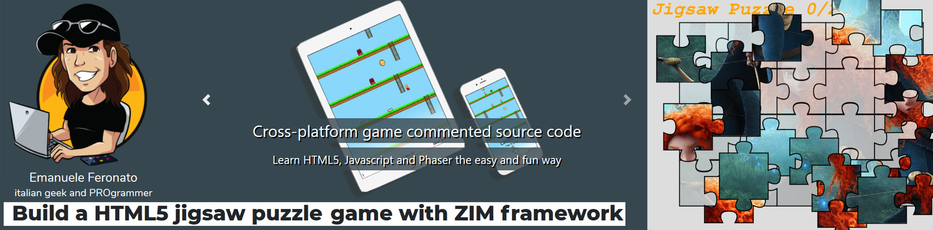 Escape Puzzles - and other teasers with ZIM JavaScript Canvas
