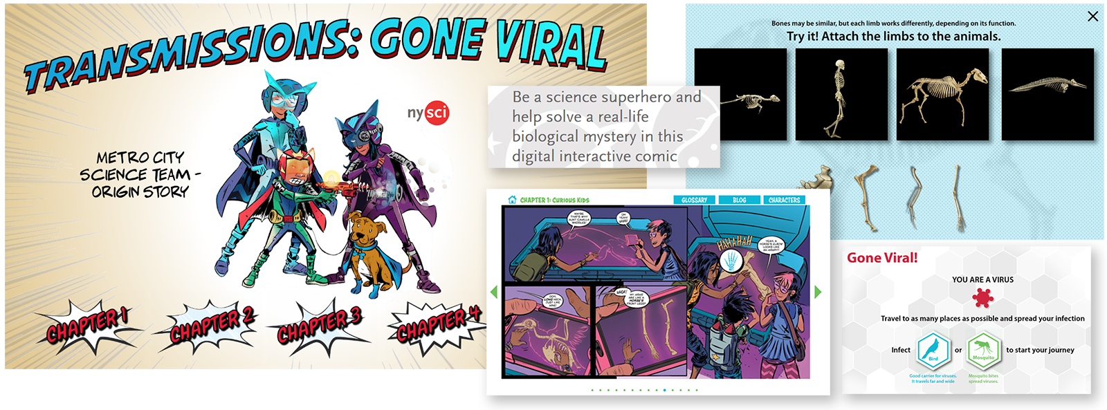 New York Hall of Science - e-learning Apps - Digital Comic Book