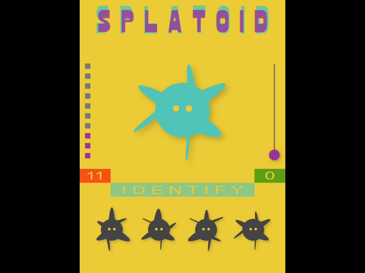 Splatoid Pattern Matching Game