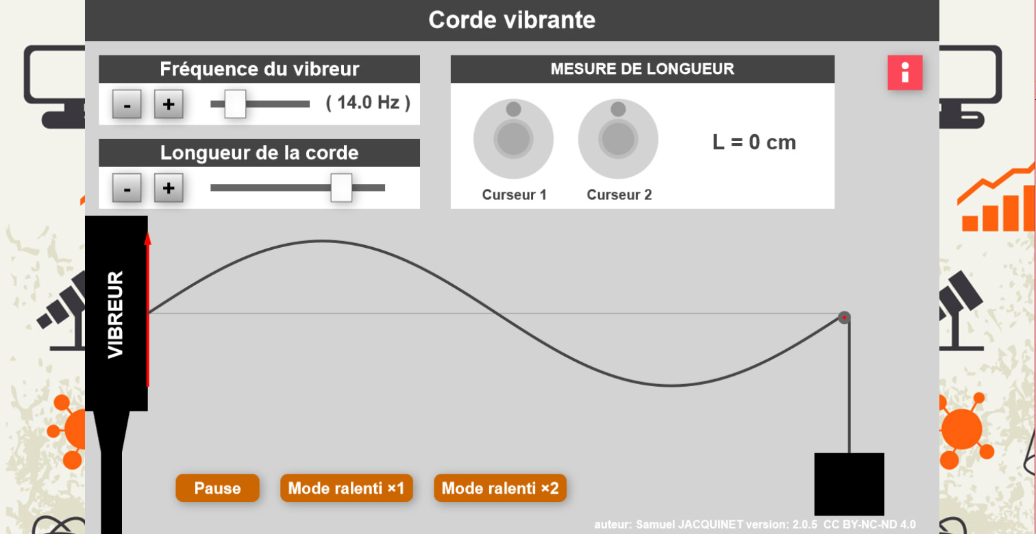 Labosims: Vibrating Cord E-Learning App by Samuel Jacquinet