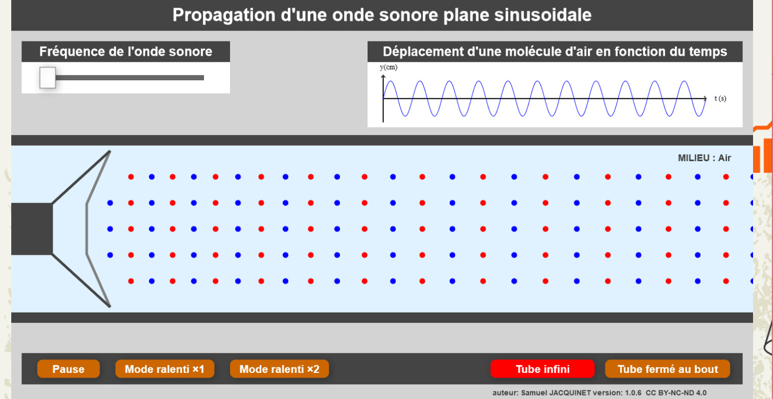 Labosims: Sound Propagation E-Learning App by Samuel Jacquinet