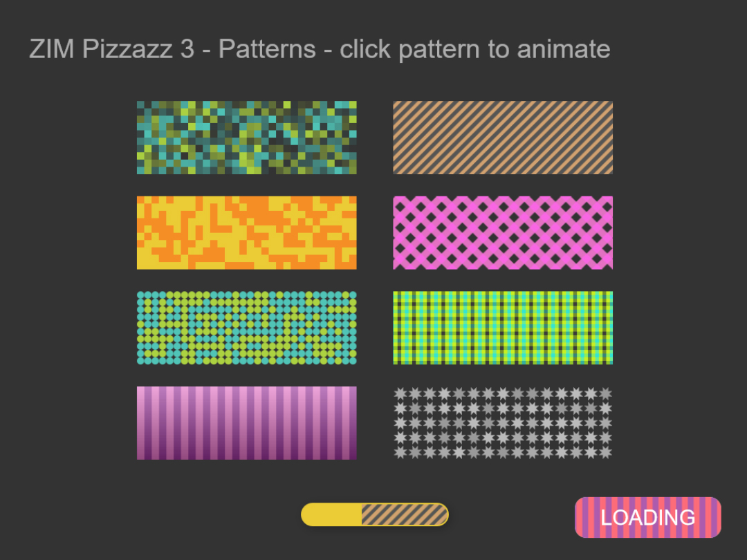 ZIM Pizzazz 3 Animated Patterns