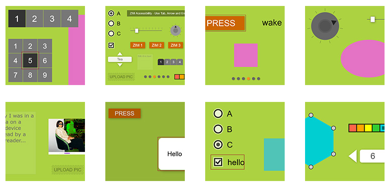CODE - ZIM JavaScript Canvas Framework - ZIMjs Code Creativity