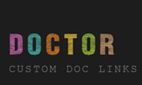 ZIM DOCTOR - Custom Doc Links Tool for HTML Canvas coding with JavaScript and CreateJS