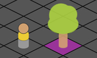 ZIM GAME with Isometric Board - for HTML Canvas coding with JavaScript and CreateJS