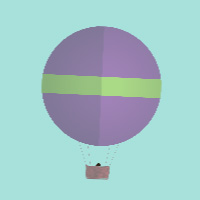 Balloons on the Canvas made with ZIM JavaScript HTML Canvas Interactive Media Framework powered by CreateJS - ZIMjs