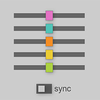 Color Sliders on the Canvas made with ZIM JavaScript HTML Canvas Interactive Media Framework powered by CreateJS - ZIMjs