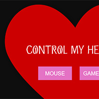 Control my Heart on the Canvas made with ZIM JavaScript HTML Canvas Interactive Media Framework powered by CreateJS - ZIMjs