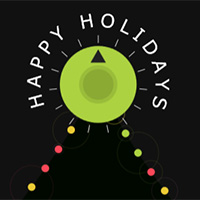 Holiday Beads on the Canvas made with ZIM JavaScript HTML Canvas Interactive Media Framework powered by CreateJS - ZIMjs