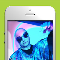3D mobile gallery on the Canvas made with ZIM JavaScript HTML Canvas Interactive Media Framework powered by CreateJS - ZIMjs