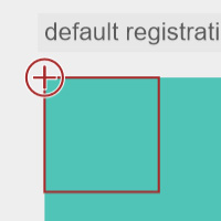 Registration Points on the Canvas made with ZIM JavaScript HTML Canvas Interactive Media Framework powered by CreateJS - ZIMjs