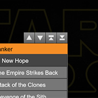 Star Wars Organizer on the Canvas made with ZIM JavaScript HTML Canvas Interactive Media Framework powered by CreateJS - ZIMjs