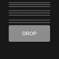 Button Drop with Confirm on the Canvas made with ZIM JavaScript HTML Canvas Interactive Media Framework powered by CreateJS - ZIMjs