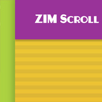 Scroll Parallax like GSAP ScrollTrigger on the Canvas made with ZIM JavaScript HTML Canvas Interactive Media Framework powered by CreateJS - ZIMjs