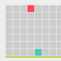 GSAP comparison challenge on the Canvas made with ZIM JavaScript HTML Canvas Interactive Media Framework powered by CreateJS - ZIMjs