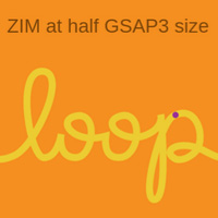 ZIM at half the size of GSAP3 on the Canvas made with ZIM JavaScript HTML Canvas Interactive Media Framework powered by CreateJS - ZIMjs