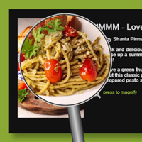 Magnifying Glass on the Canvas made with ZIM JavaScript HTML Canvas Interactive Media Framework powered by CreateJS - ZIMjs