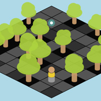 Isometric Maze featured on CodePen for the Canvas made with ZIM JavaScript HTML Canvas Interactive Media Framework powered by CreateJS - ZIMjs