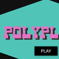 Polygons featured on CodePen for the Canvas made with ZIM JavaScript HTML Canvas Interactive Media Framework powered by CreateJS - ZIMjs