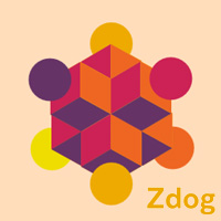 Zdog 3D with ZIM featured on CodePen for the Canvas made with ZIM JavaScript HTML Canvas Interactive Media Framework powered by CreateJS - ZIMjs