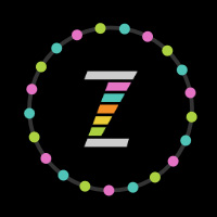 ZIM Beads - objects on path made with ZIM JavaScript HTML Canvas Interactive Media Framework powered by CreateJS - ZIMjs
