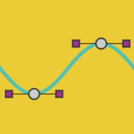 Squiggle Line with Bezier on the Canvas made with ZIM JavaScript HTML Canvas Interactive Media Framework powered by CreateJS - ZIMjs
