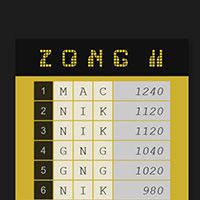 Pong Game with Two paddles and multiple balls made with ZIM JavaScript HTML Canvas Interactive Media Framework powered by CreateJS - ZIMjs
