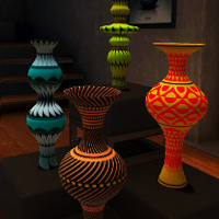 Book of SLam DarkLo VR Pottery - Interactive NFT for the Canvas made with ZIM JavaScript HTML Canvas Interactive Media Framework powered by CreateJS - ZIMjs