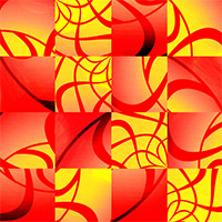 OpArt Apart - Interactive NFT for the Canvas made with ZIM JavaScript HTML Canvas Interactive Media Framework powered by CreateJS - ZIMjs