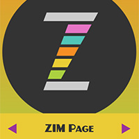 ZIM Page class for making pages and cool transitions made with ZIM JavaScript HTML Canvas Interactive Media Framework powered by CreateJS - ZIMjs