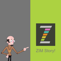 ZIM Story made with ZIM JavaScript HTML Canvas Interactive Media Framework powered by CreateJS - ZIMjs