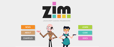 ZIM VEE - JavaScript HTML Canvas Interactive Media Framework powered by CreateJS - ZIMjs